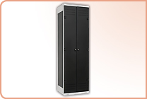 2-door clothes lockers
